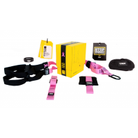 Петли TRX Pink HOME Suspension Training Kit